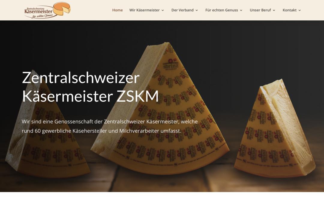 Neue Website ZSKM